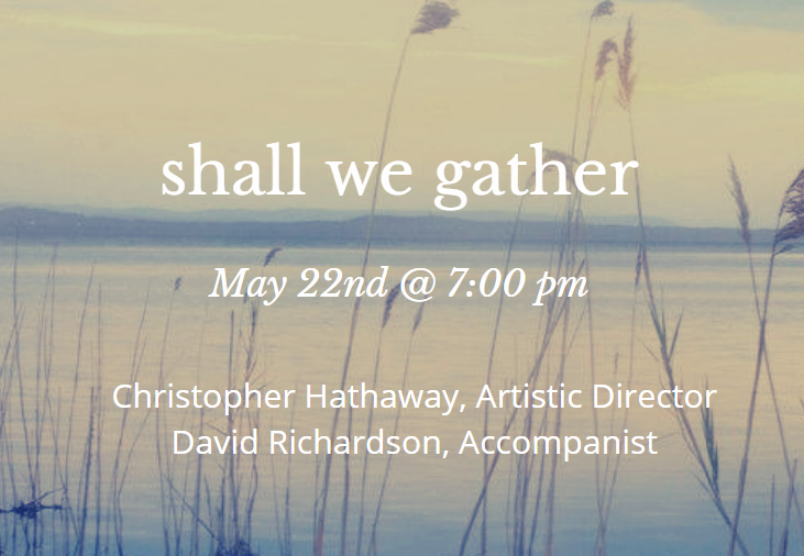 Shall We Gather Poster